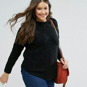 Black sweater - Size 12-14